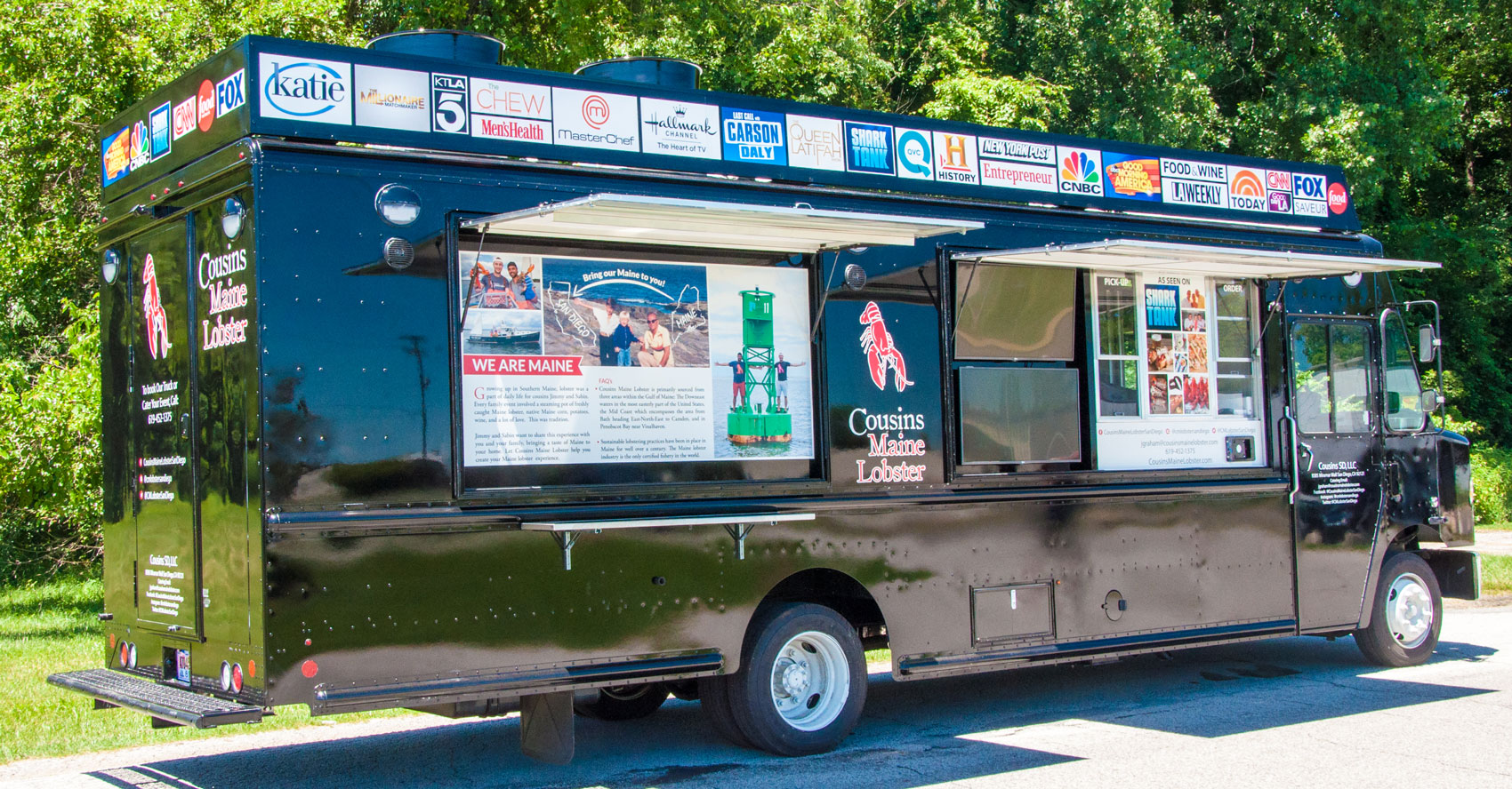 Food Trucks For Sale Near Me >> Cousins Maine Lobster Food Truck Trailer New Food Truck For Sale